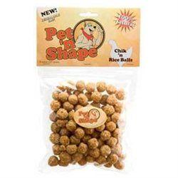 Topdawg Pet Supply Pet n Shape Chik n Rice Balls Dog Treat