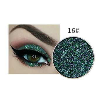 Shimmer Glitter Eyeshadow Cosmetic Makeup Powder Palette Matte by DMZ