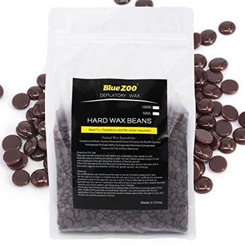 KingWo Hair Removal Bean for Men&Women No Strip Depilatory Hot Film Hard Wax Pellet Waxing Bikini (C)