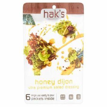 Haks Paks Dressing Honey Dijon,6 Oz (Pack Of 6)