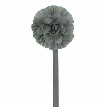 Satin Flower Pacifier Clip