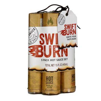 Modern Gourmet Foods The Swift Burn Hot Sauce Gift Set