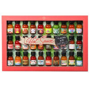 Modern Gourmet Foods World Wide Hot Sauce Gift Set, 30 Pieces