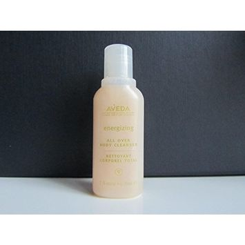 Aveda Energizing Body Cleanser Body Wash, Deluxe Travel Size, 1 Oz