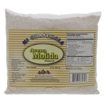 Mi Guatemala Ground Oatmeal 12oz - Harina de Avena Molida (Pack of 18)