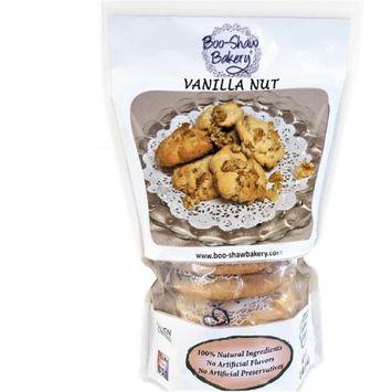 Boo-shaw Bakery Inc. Boo-Shaw Bakery All Natural Gourmet Vanilla Nut Cookies