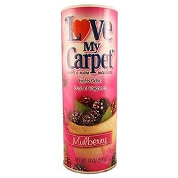 Love My Carpet Mulberry Carpet Odor Eliminator and Deodorizer
