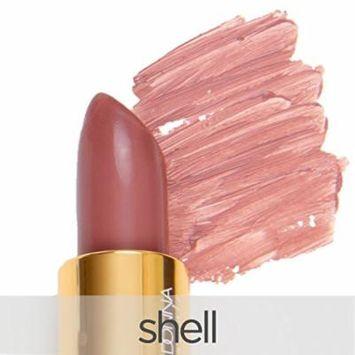 La Bella Donna Mineral Light Up Lip Colour   All Natural Pure Mineral Lipstick   Long-Lasting Color   Hydrating Formula   100% Vegan   Hypoallergenic and Cruelty Free - Shell
