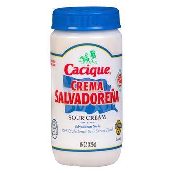 Cacique Crema Salvadorena, 15 Oz.