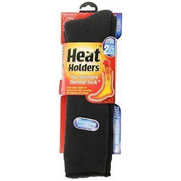 Heat Holders Ladies Extra Long Heat Holders, Charcoal, US Shoe Size 5-9