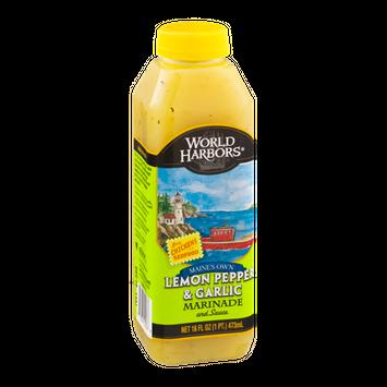 World Harbors Maines Own Lemon Pepper & Garlic Marinade