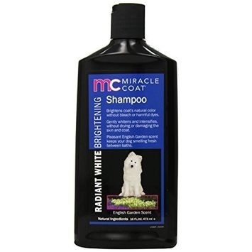 Miracle Coat Dog Shampoo [Radiant White Brightening Shampoo]