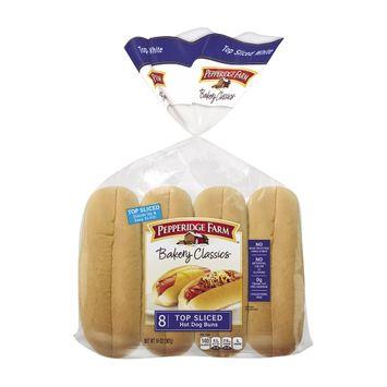 Pepperidge Farm® Bakery Classics Top Sliced Hot Dog Buns