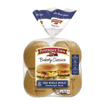 Pepperidge Farm® Classic Soft Whole Wheat Hamburger Buns