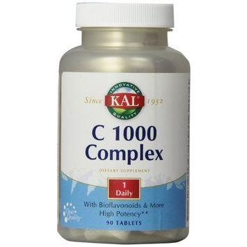 KAL Vitamin C Complex Tablets, 1000 mg, 90 Count