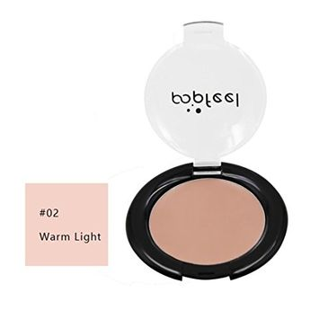 Concealer Cover Cream DEESEE(TM)POPFEEL Full Coverage Moisturizing Nude Waterproof Matte Oil Control Silky Smooth Freckles Acne BB Cream Base Makeup Liquid Foundation