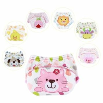 Leakproof Baby Cloth Nappy Pants Baby Infant Pee Potty Training Underwear