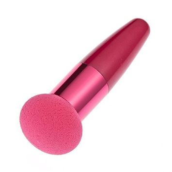 Lookatool Women Cosmetic Liquid Cream Foundation Concealer Sponge Lollipop Brush