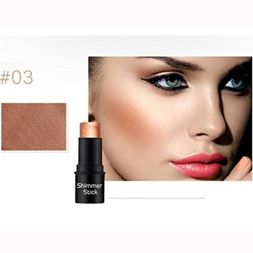 Concealer Cover Cream DEESEE(TM)Women Natrual Highlight Beauty Oil Control Smooth Trimming Pearlescent Cover Dark Circles Silky Smooth Freckles Acne BB Cream Base Makeup Contour Pen Stick