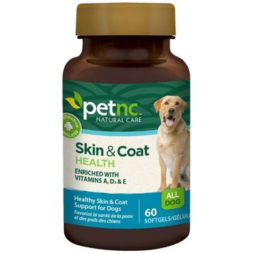 PetNC Natural Care Skin and Coat for Dogs, 60 ea