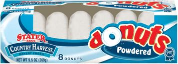 Stater bros Country Harvest Powdered 8 Ct Donuts