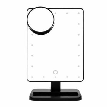 Ovonni 10X Magnifier Makeup Mirror LED Touch Screen 10X