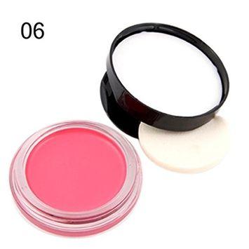 Creazy MISS ROSE Blush Makeup Natural Baked Blusher Powder Cheek Color Make Up