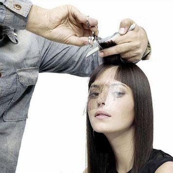 Lumiery Transparent mask Bang Sticker 50PCS Protector eyes, forehead Haircut product Barber Hairspray Shield Mask Bang trim