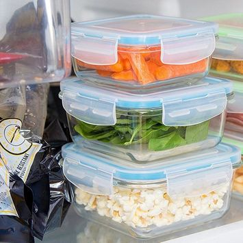 20-Piece Assorted Glass Containers Set