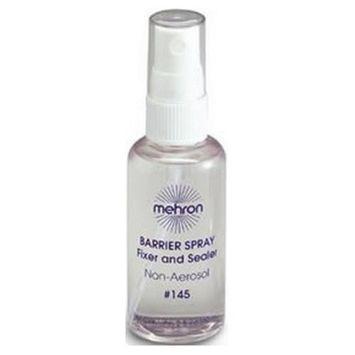 Mehron Barrier Spray Fixer and Sealer - 2 oz.