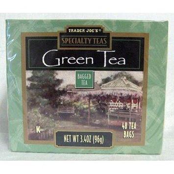 Trader Joe's Specialty Teas Green Tea 48 Tea Bags