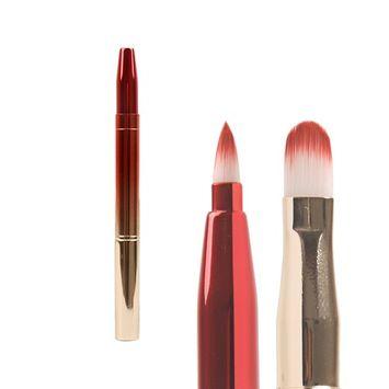 Bohol 2 in 1 Concealer Brush and Lip Brush Gradient Color Makeup Brush Tool Christmas Gift