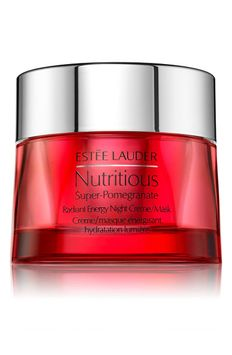 Estée Lauder Nutritious Super-Pomegranate Radiant Energy Night Crème Mask