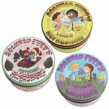 Scented Putty: Therapeutic 3 Pack - Aromatherapy, mood enhancing, essential oil