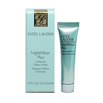Estee Lauder NightWear Plus 3-Minute Detox Mask 0.17 fl.oz./5ml