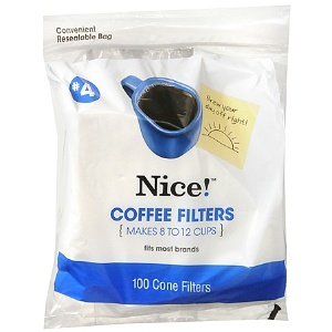 Nice! Coffee Filters Cone Style