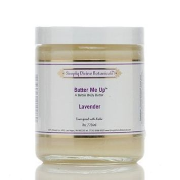 Butter Me Up Lavender Hand and Body Butter 8 oz by Simply Divine Botanicals