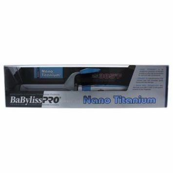 Nano Titanium And Ceramic Curling Iron - Model # BNT125SC - Grey/Blue by BaBylissPRO for Unisex - 1.25 Inch Curling Iron
