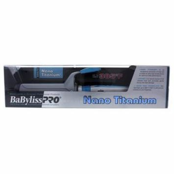 Nano Titanium And Ceramic Curling Iron - Model # BNT150SC - Grey/Blue by BaBylissPRO for Unisex - 1 1/2 Inch Curling Iron