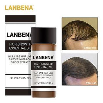 Hair Growth Essence Hair Loss Serum Herbal Hair Growth Liquid for Preventing Hair Loss+Strong Hair+Hair Regrowth-20 ml