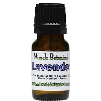 Miracle Botanicals Organic Maillette Lavender Essential Oil - 100% Pure Lavandula Angustifolia Officinalis - 10ml or 30ml Sizes - Therapeutic Grade - French Maillette 10ml