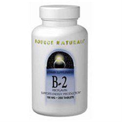 Source Naturals Vitamin B-2 100mg