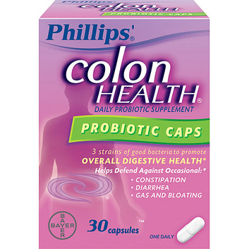Phillips: Probiotic Supplement Colon Health