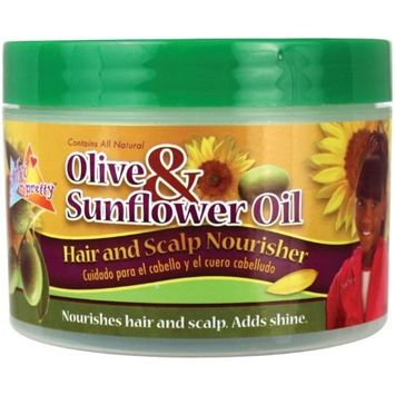 Sofn'freen'pretty® Olive & Sunflower Oil Hair & Scalp Nourisher