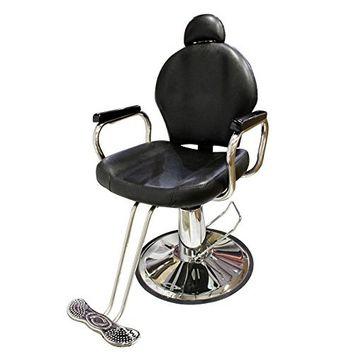 TMS All Purpose Reclining Hydraulic Barber Chair Salon Beauty Spa Shampoo Equipment