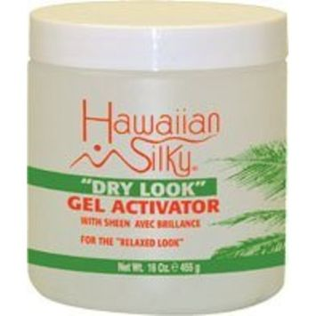 Hawaiian Silky Dry Look Gel Activator 16 oz. [Pack of 6]