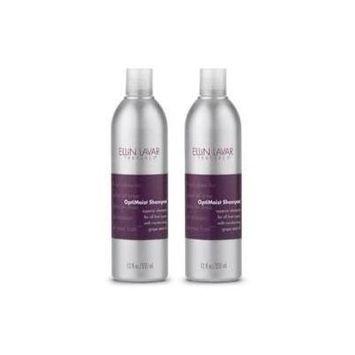 Ellin Lavar Textures OptiMoist Shampoo (12 fl oz) 2 Pack