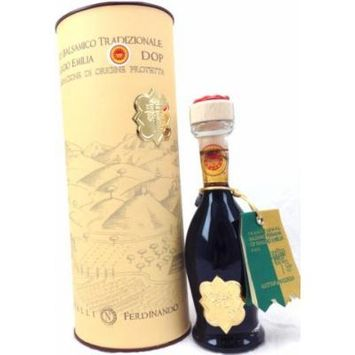 Cavalli Tradizionale of Reggio Emilia Balsamic Vinegar Gold Seal, Aged 25 Years, 100ml (3.38oz)