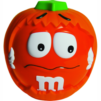 Mars, Halloween Candy, Pumpkin Chocolate Candy Variety Bucket, 24.45 Oz, 85 Ct