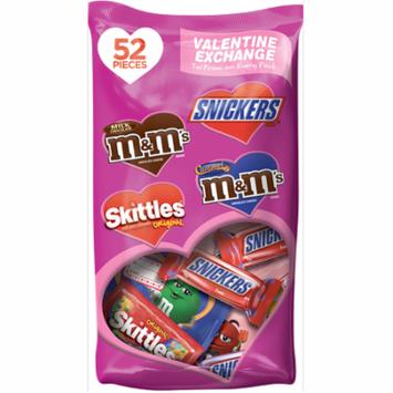 Mars Chocolate Fun Size Valentine's Candy Variety Mix, 27.87 Oz, 52 Ct